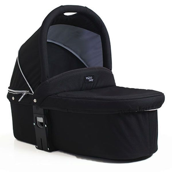 Valco Baby Snap Ultra Duo Q Bassinet Coal Black - (PRE-ORDER FOR AUGUST 2020)