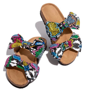 """Bow""  sandal arriving 7/24-27"