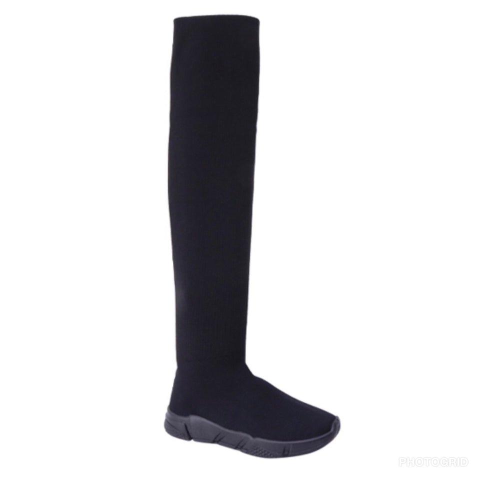 Over the knee stretch boot. Runs one size small