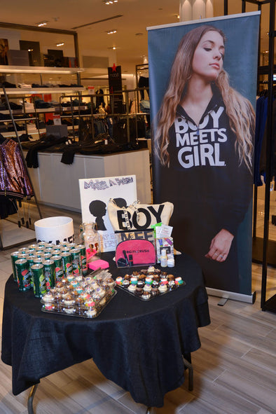 Lunch Break: Boy Meets Girl® at Macy's with Kiehl's & Bobbi Brown
