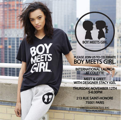 Boy Meets Girl launches in Paris @colette!