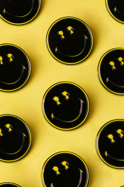 BOY MEETS GIRL® x Smiley x Pintrill DROP: Pins to Make You SMILE!