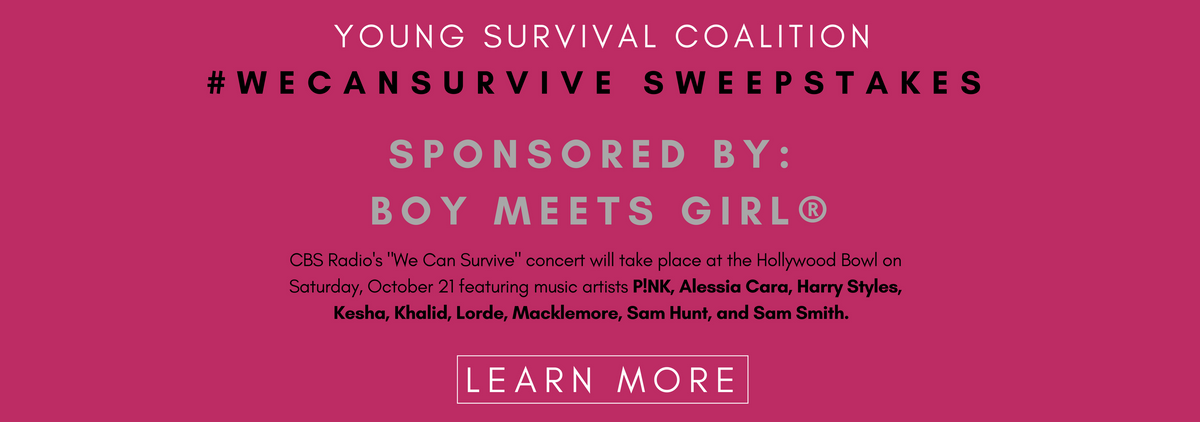 Boy Meets Girl® Sponsors the Young Survival Coalition