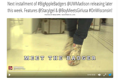 Next installment of #BigAppleBadgers @UWMadison releasing later this week.  Features @StacyIgel & @BoyMeetsGirlusa #OnWisconsin!