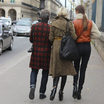 Check out Stacy Igel's feature on LADYGUNN magazine on her trip to Paris!