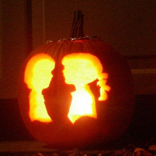 Boy Meets Girl Logo Pumpkin Carving
