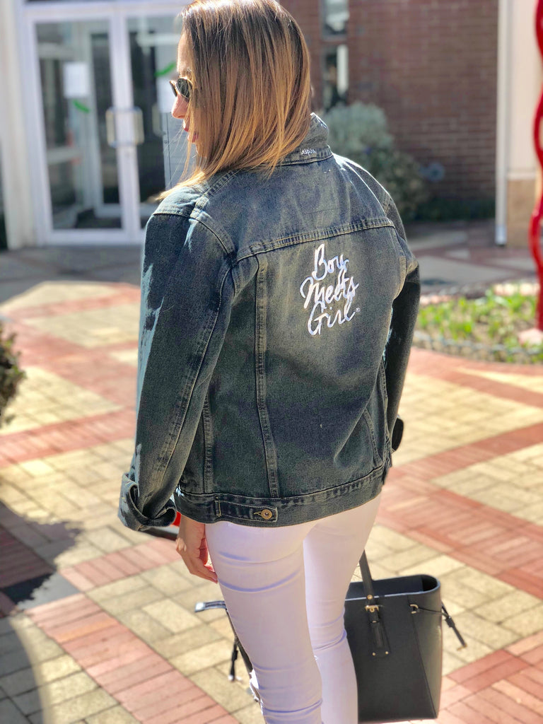 5f0b9bcfa If so, we're throwing our No Secrets Over-sized Denim Jacket in the mix to  help you come up with some ideas for the upcoming weekend.