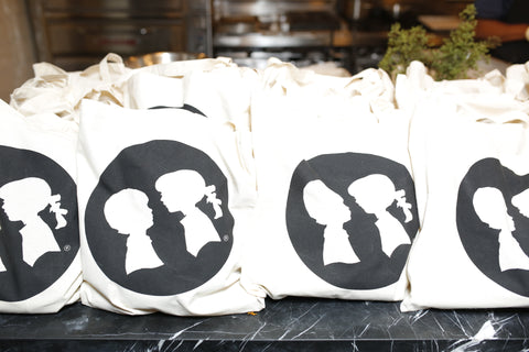 Boy Meets Girl Logo Tote Bag