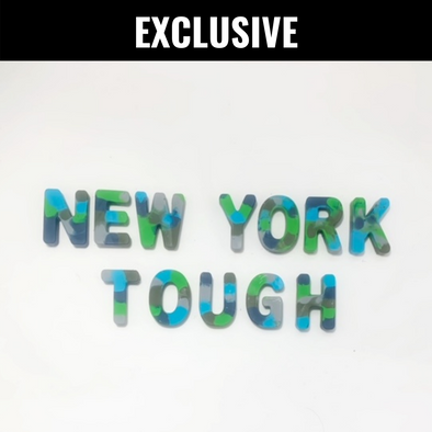 BOY MEETS GIRL® x Cre8ive Crayonz NEW YORK TOUGH Blue, Green, & Grey Camo Exclusive Set