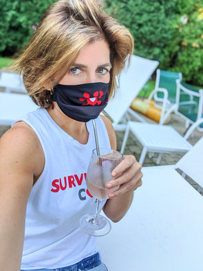 "BOY MEETS GIRL® x SURVIVOR CORPS ""Dylan"" Drinking Mask"