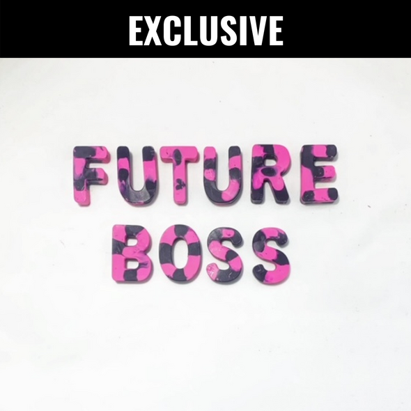 BOY MEETS GIRL® x Cre8ive Crayonz FUTURE BOSS Pink & Purple Exclusive Set