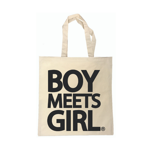 BOY MEETS GIRL® Tote