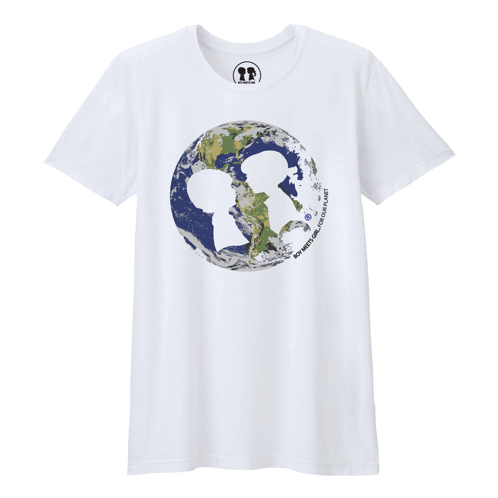Boy Meets Girl® Save the Planet Unisex T-Shirt