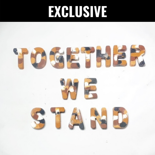 BOY MEETS GIRL® x Cre8ive Crayonz TOGETHER WE STAND Multi-Cultural Exclusive Set