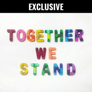 BOY MEETS GIRL® x Cre8ive Crayonz TOGETHER WE STAND Rainbow Exclusive Set