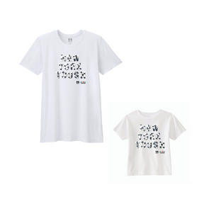 BOY MEETS GIRL® x Cre8ive Crayonz White NEW YORK TOUGH Black & White Font Adults & Kids Unisex T-Shirt