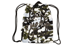 BOY MEETS GIRL® Camouflage Gym Bag