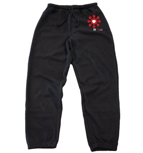BOY MEETS GIRL® x SURVIVOR CORPS Black Classic Sweats