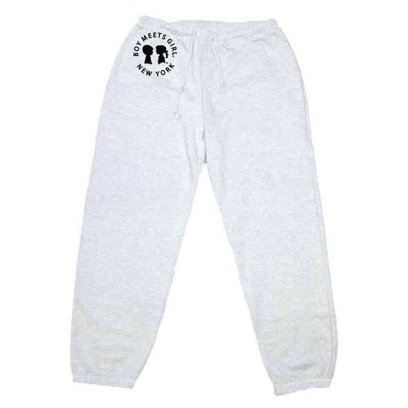 BOY MEETS GIRL® in New York Heather Grey Classic Sweats