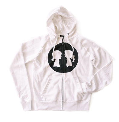 BOY MEETS GIRL® Full Circle Logo Hoodie