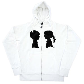 BOY MEETS GIRL® Black & White Coco Hoodie