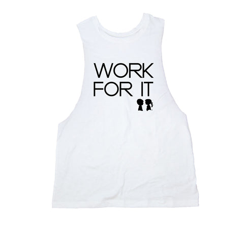 WORK FOR IT DROP ARMHOLE TANK