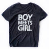 BOY MEETS GIRL® Tee (V-Neck)