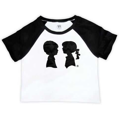Alice Logo Raglan Crop Top