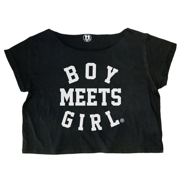 Study Date Oversized Crop Box Tee