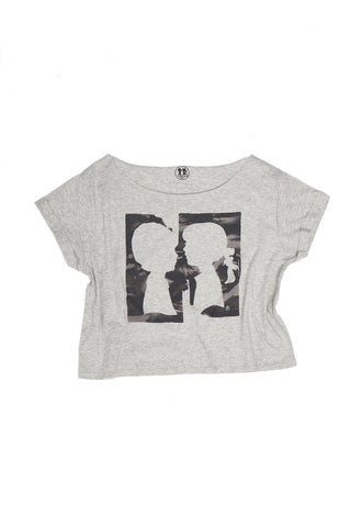Pieces Crop Box Tee