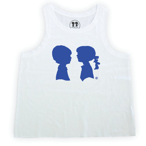 Blue Logo Box Tank