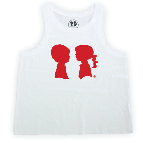 Red Logo Box Tank