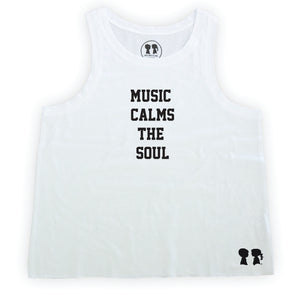 Music Calms The Soul Box Tank