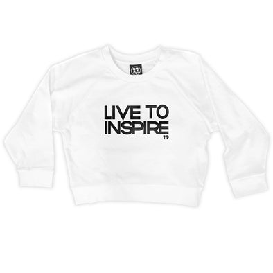 Live To Inspire Crop Sweatshirt