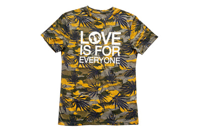 BOY MEETS GIRL® UNEXPECTED 2019 Love Is For Everyone Tropical Oversized Crew Tee