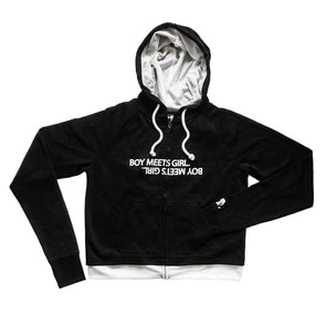 BOY MEETS GIRL® UNEXPECTED 2019 Double Layer Hoodie