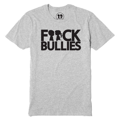 BOY MEETS GIRL® F**ck Bullies Heather Grey Unisex T-Shirt