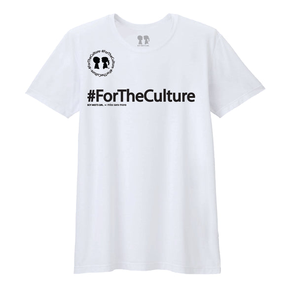 BOY MEETS GIRL® x miss sara mora: #ForTheCulture Unisex T-Shirt