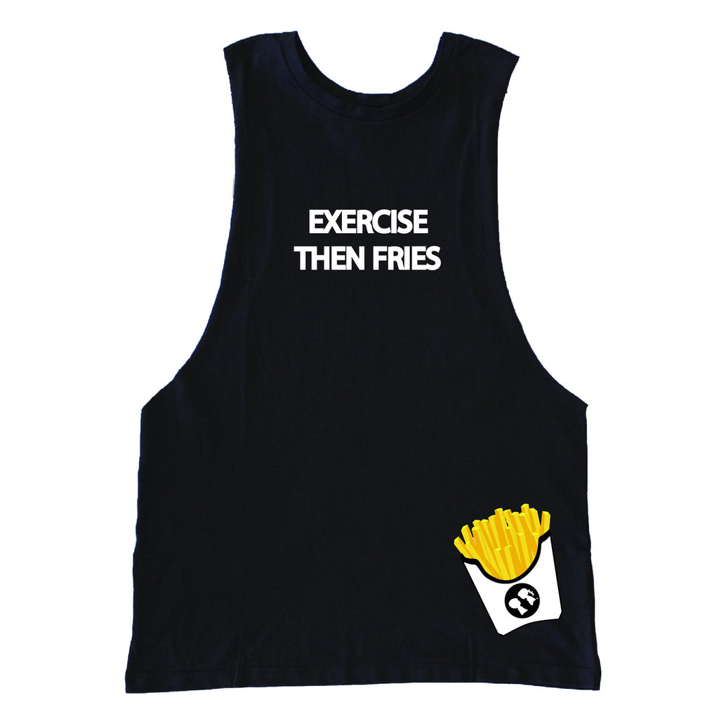 National French Fry Day: Exercise Then Fries Drop Tank