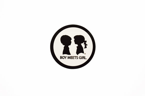 BOY MEETS GIRL® Sticker