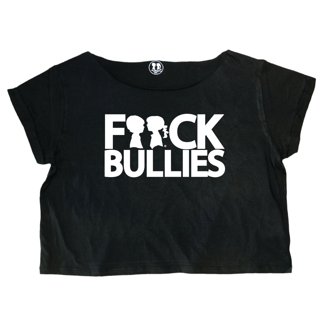Boy Meets Girl® F**ck Bullies Oversized Crop Box Tee