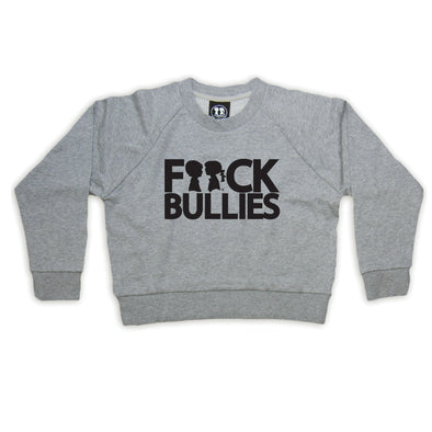 BOY MEETS GIRL® F**ck Bullies Crop Sweatshirt