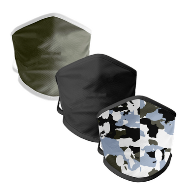 BOY MEETS GIRL® Camo Community Mask 3-Pack