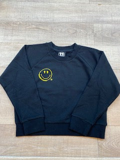 BOY MEETS GIRL®️ BLACK LABEL X SMILEY®️ ORIGINALS Crew Sweatshirt