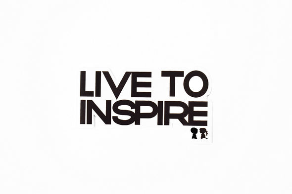 BOY MEETS GIRL® Live to Inspire Sticker