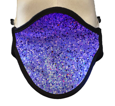 "BOY MEETS GIRL® ""Dylan"" Sparkle Purple Drinking Mask"