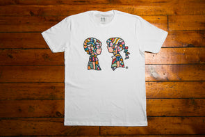 "BOY MEETS GIRL® Artist Series Unisex T-Shirt ""Happy Thoughts"": Aaron Purkey"