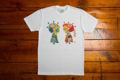 "BOY MEETS GIRL® Artist Series Unisex T-Shirt ""Blind Love"": Aaron Purkey"