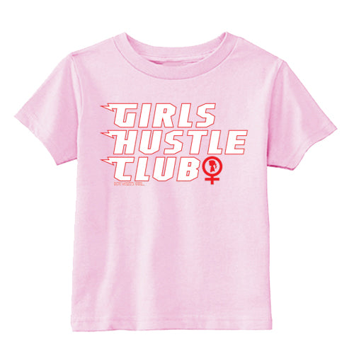 Boy Meets Girl® Girls Hustle Club Member's Baby Tee
