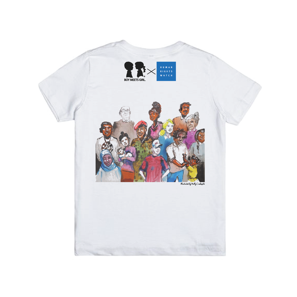 Toddler BOY MEETS GIRL® x Human Rights Watch Tee
